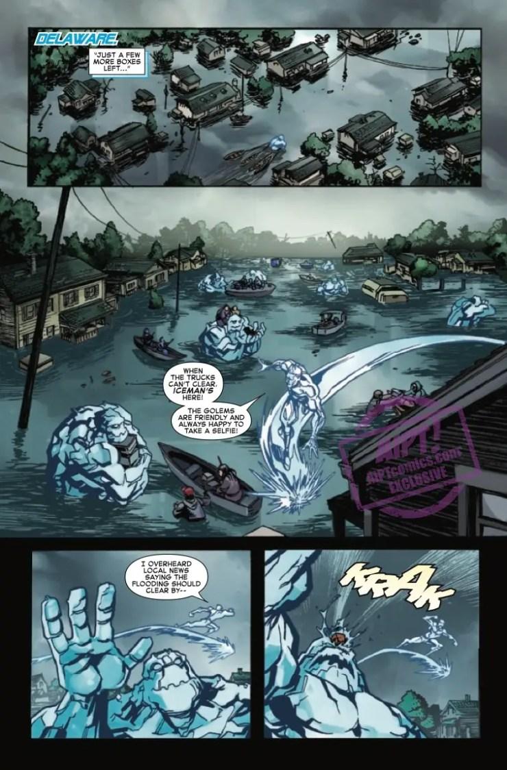 EXCLUSIVE Marvel Preview: Uncanny X-Men Winter's End #1