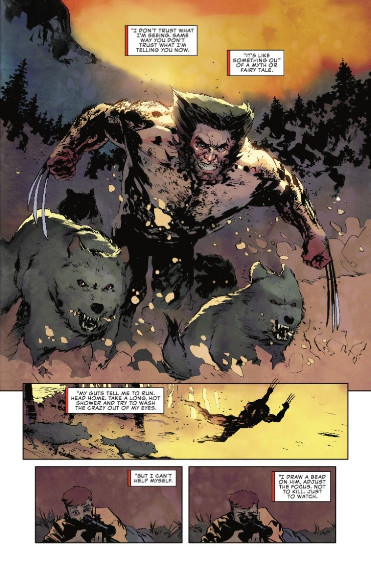 Marvel Preview: Wolverine: The Long Night #3