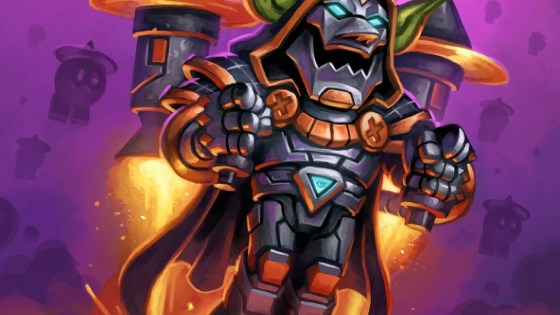 Hearthstone: Rise of Shadows: Dr. Boom returns as Blastmaster Boom, legendary Warrior minion and brings a new Scheme with him
