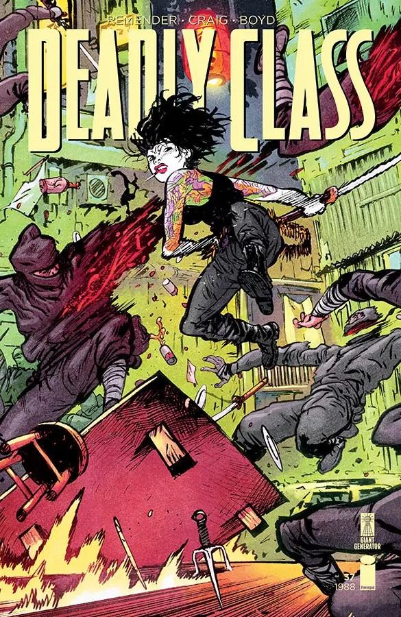 Deadly Class #37 review: Saya it ain't so