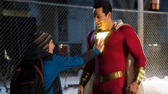 Check out our early impressions of 'Shazam!'