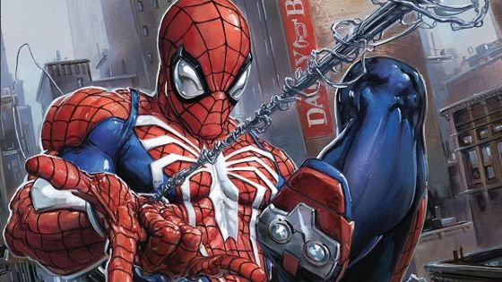 Experience the PS4 Spider-Man game in comic book format!