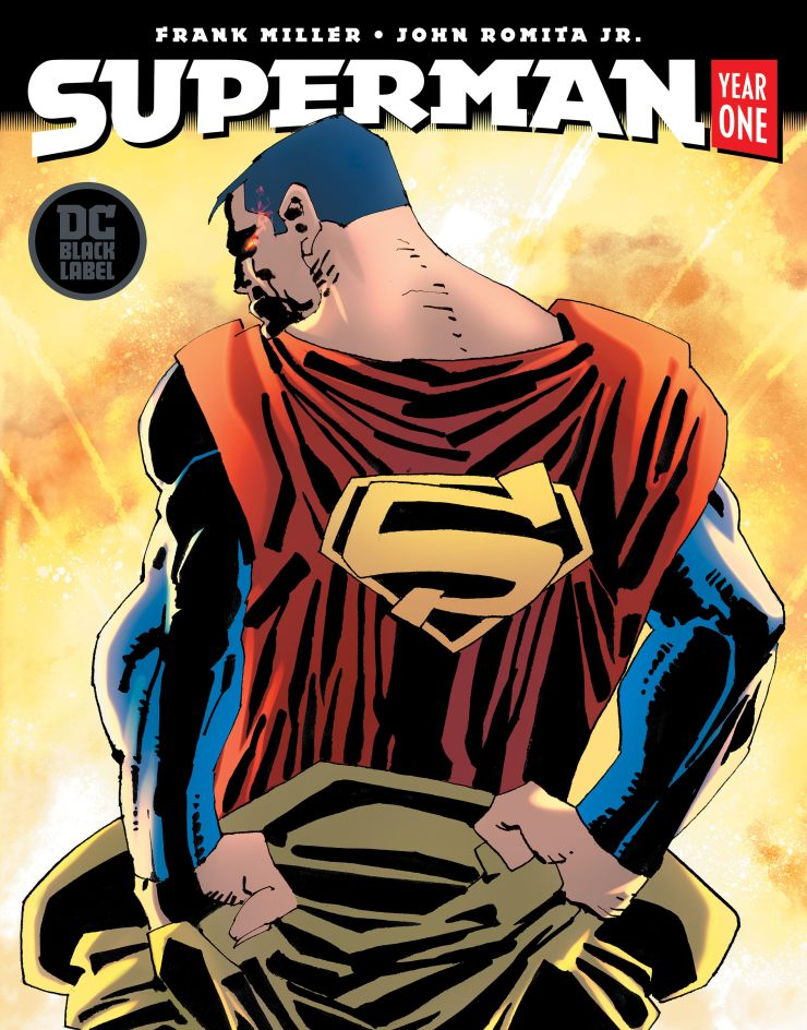 DC Comics reveals June release for Superman: Year One from Frank Miller and John Romita Jr.