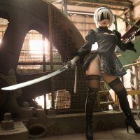 NieR: Automata: 2B cosplay by Chihiro Chang