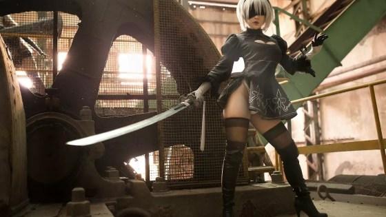 NieR: Automata: 2B cosplay by Chihiro Chang