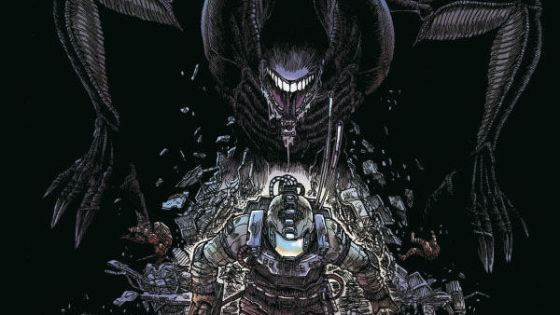 James Stokoe's Aliens: Dead Orbit is an absolutely brilliant masterpiece of science fiction horror.