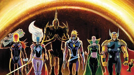 The Dark Guardians, a new cosmic hit squad made up of the most powerful and cunning people in space, are going to kill Gamora. It's time for the new Guardians of the Galaxy to saddle up!