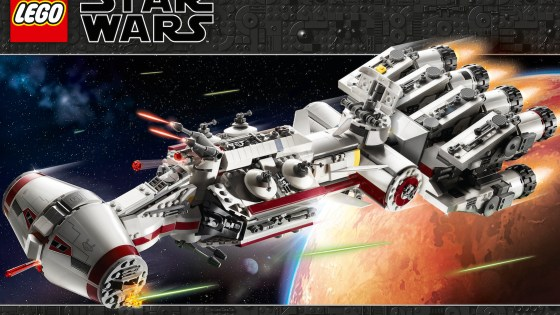 Celebrate 20 years of LEGO Star Wars with the iconic Rebel ship Tantive IV first featured in Star Wars: A New Hope.