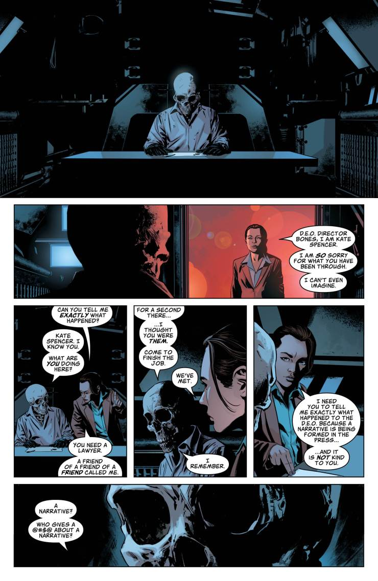 Action Comics #1010 review: Agents of Spyral