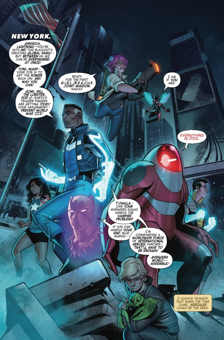 Marvel Preview: Avengers: No Road Home #9