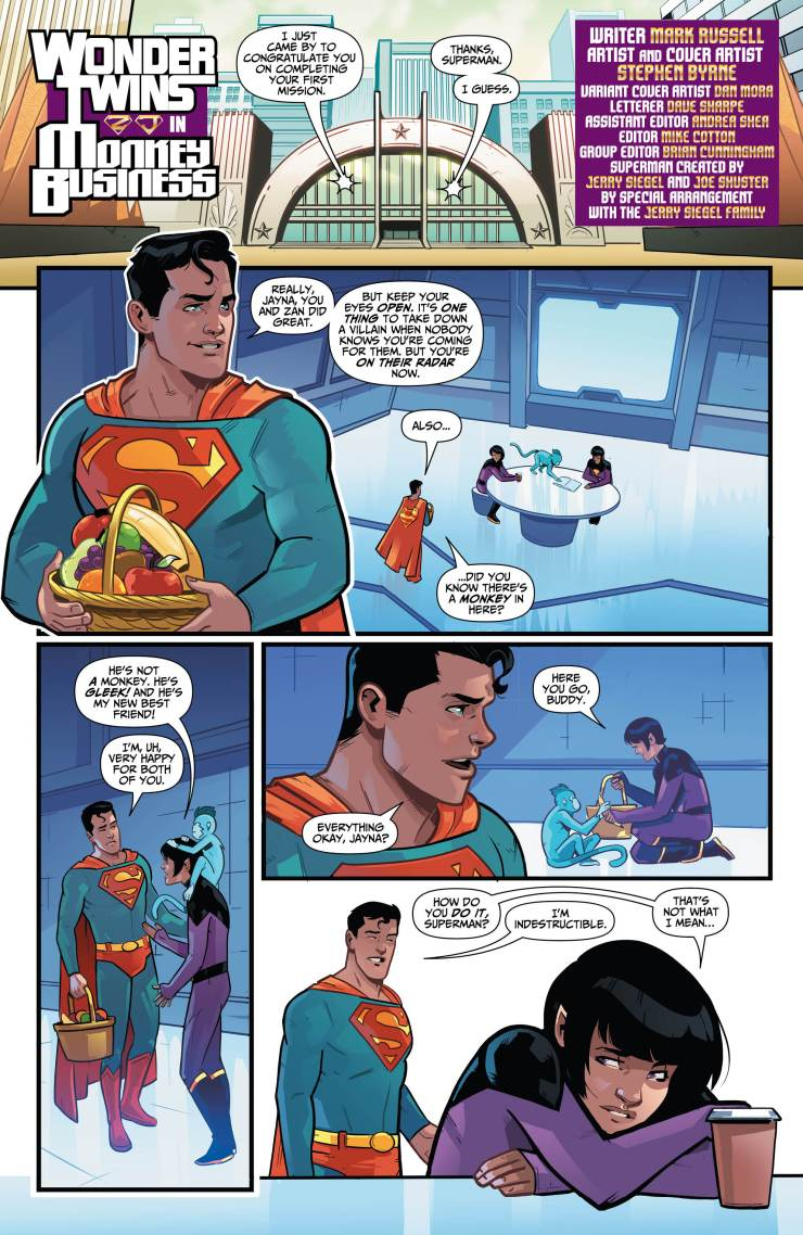 Wonder Twins #3 review: Kindness