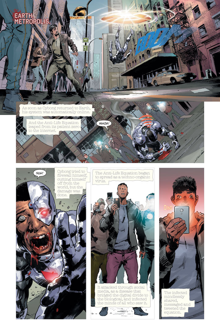 Consume every image released about DCeased from DC Comics.