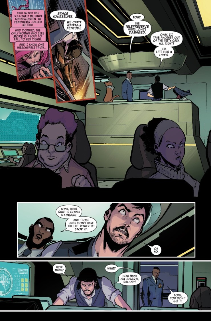 Marvel Preview: Domino: Hotshots #3