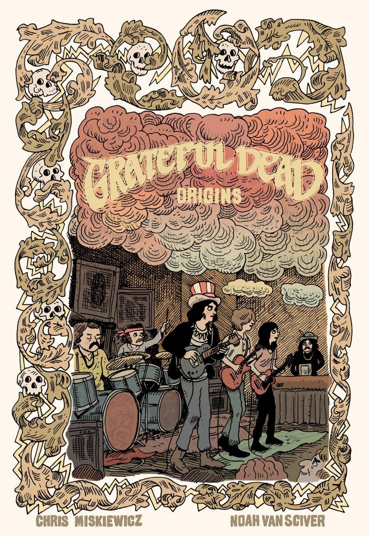 Grateful Dead Origins is coming in 2020 from Z2 Comics