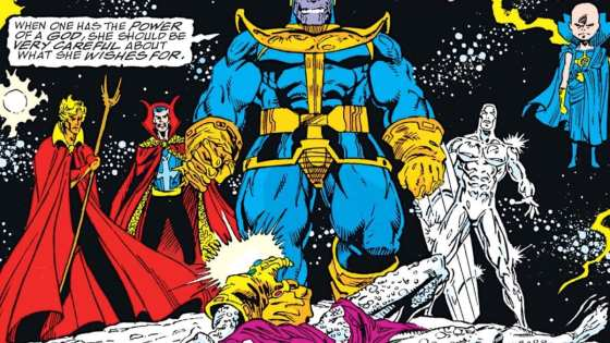Avengers Month continues! This week AiPT! Content and Media Manager David Brooke joins Nathaniel as the two talk about the differences between Marvel Comics' 'The Infinity Gauntlet' and the MCU.