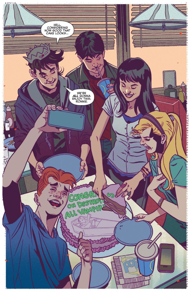 Jughead: The Hunger vs. Vampironica #1 Review