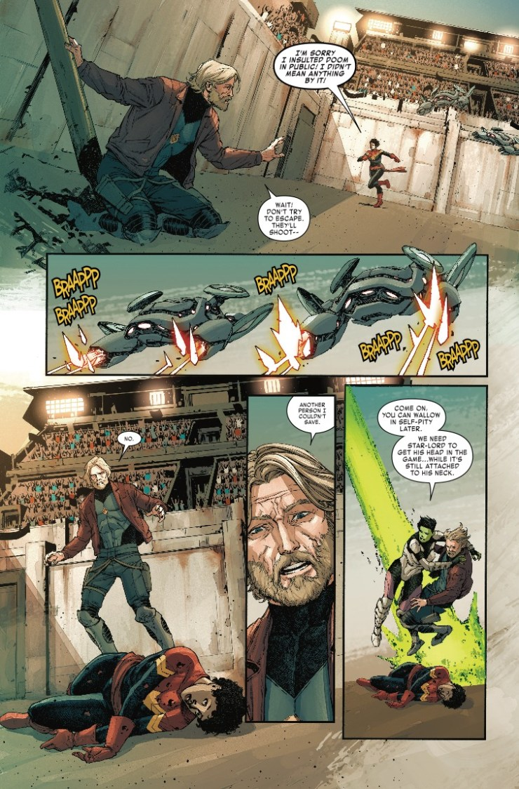 Marvel Preview: Old Man Quill #4