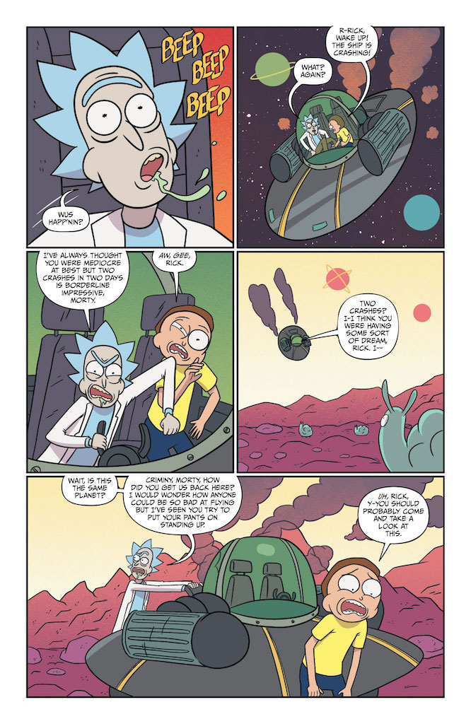 Oni Preview: Rick and Morty #49