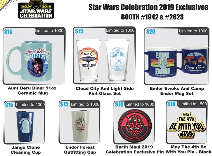 Toynk's 2019 Star Wars Celebration Exclusives