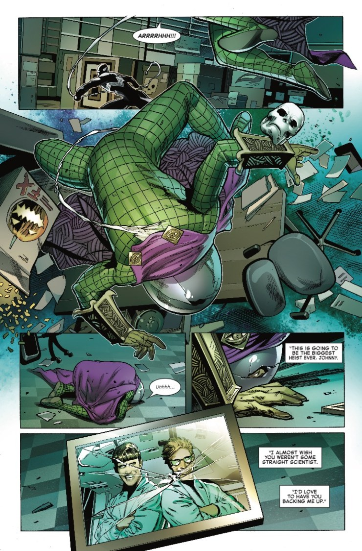 Marvel Preview: Symbiote Spider-Man #1
