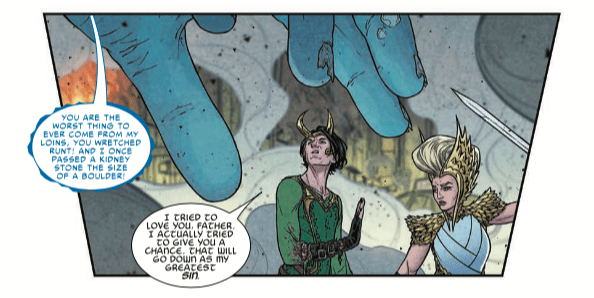 The war in 'War of the Realms' escalates due to a meal