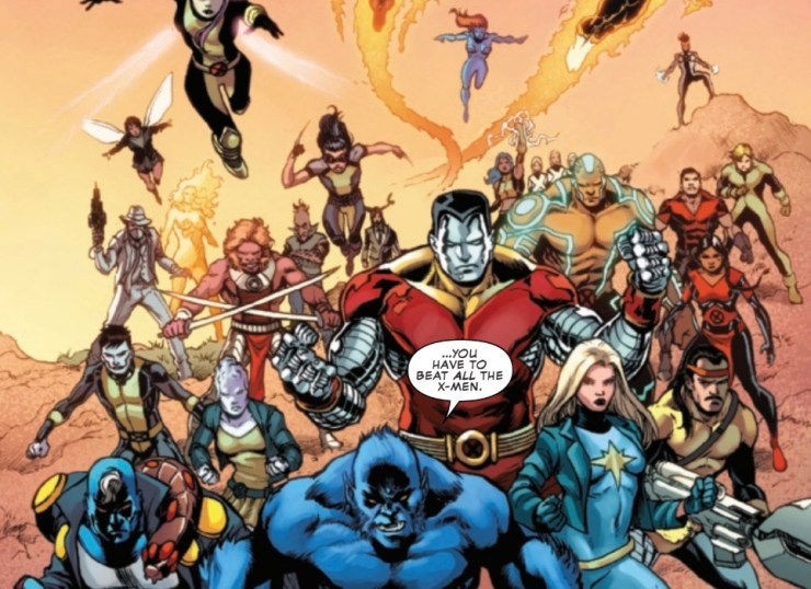 X-Men Monday #8 - Major X, favorite mutants and working with Jonathan Hickman