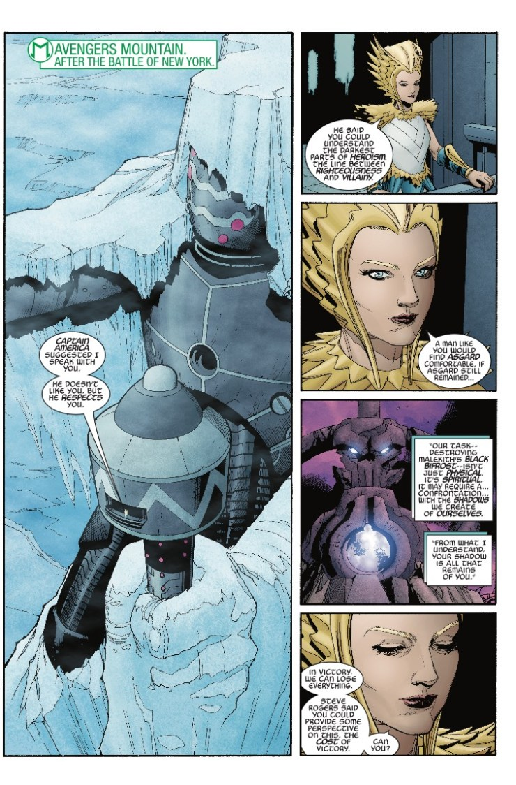Marvel Preview: The War Of The Realms: Strikeforce - The Dark Elf Realm #1