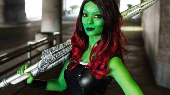 Gamora cosplay by Sara Moni