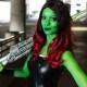 Cosplayer Sara Moni looks like the spitting image of the MCU's fiercest woman in the galaxy: Gamora.