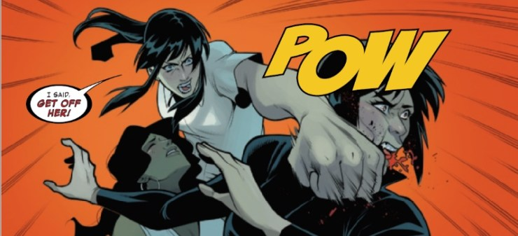 The team escapes a vampire cult that has their claws on America Chavez, only to fall prey to the one enemy they're powerless to defeat.... Cancellation.