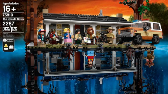 The entire world is highly anticipating Stranger Things season 3, but before that even comes out dig into this incredible new LEGO set of the Upside Down. What makes this set unique from any other is how it literally can be turned upside down. Check out the box art below: