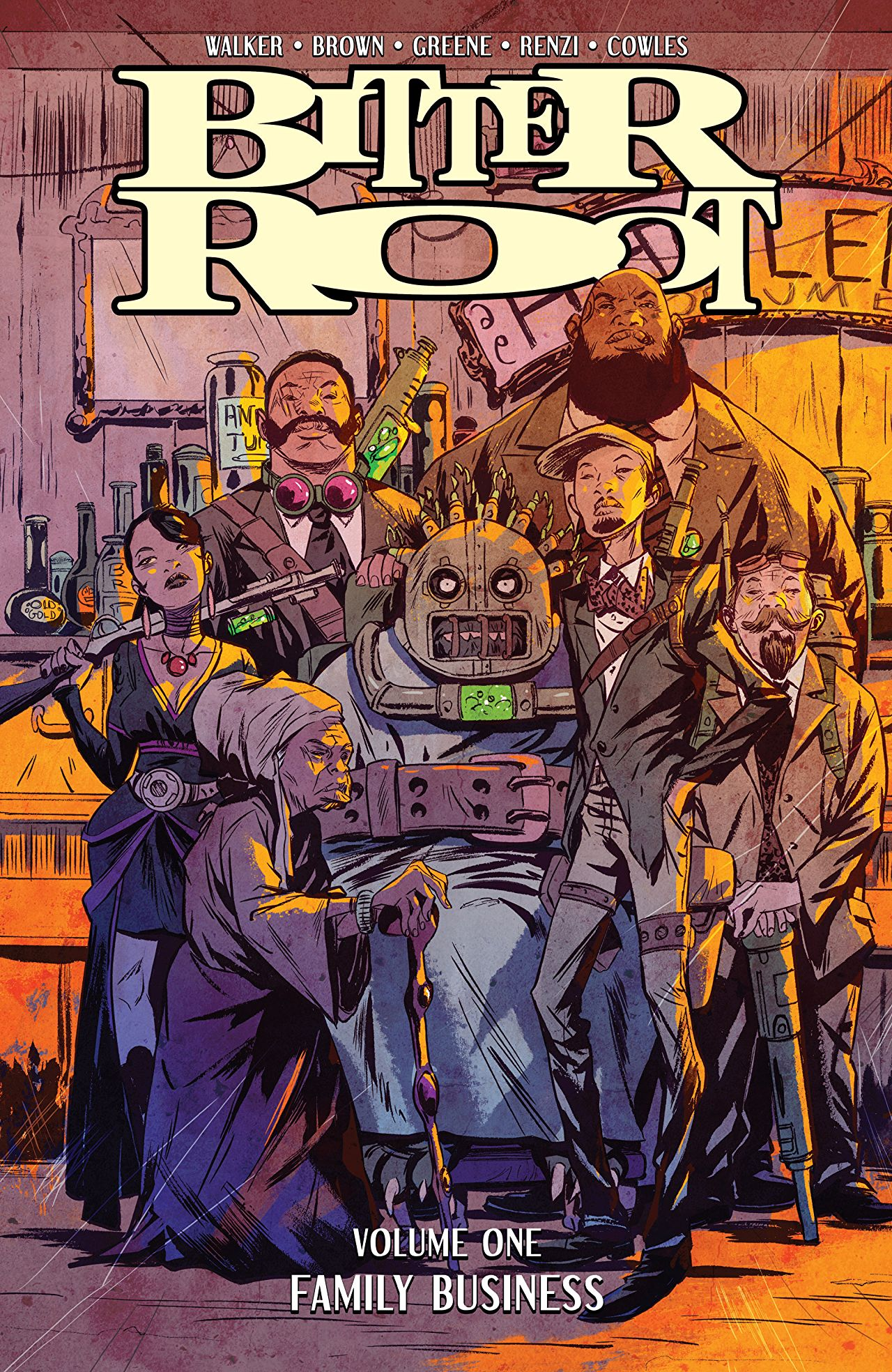Bitter Root Vol. 1 review: A powerful heart