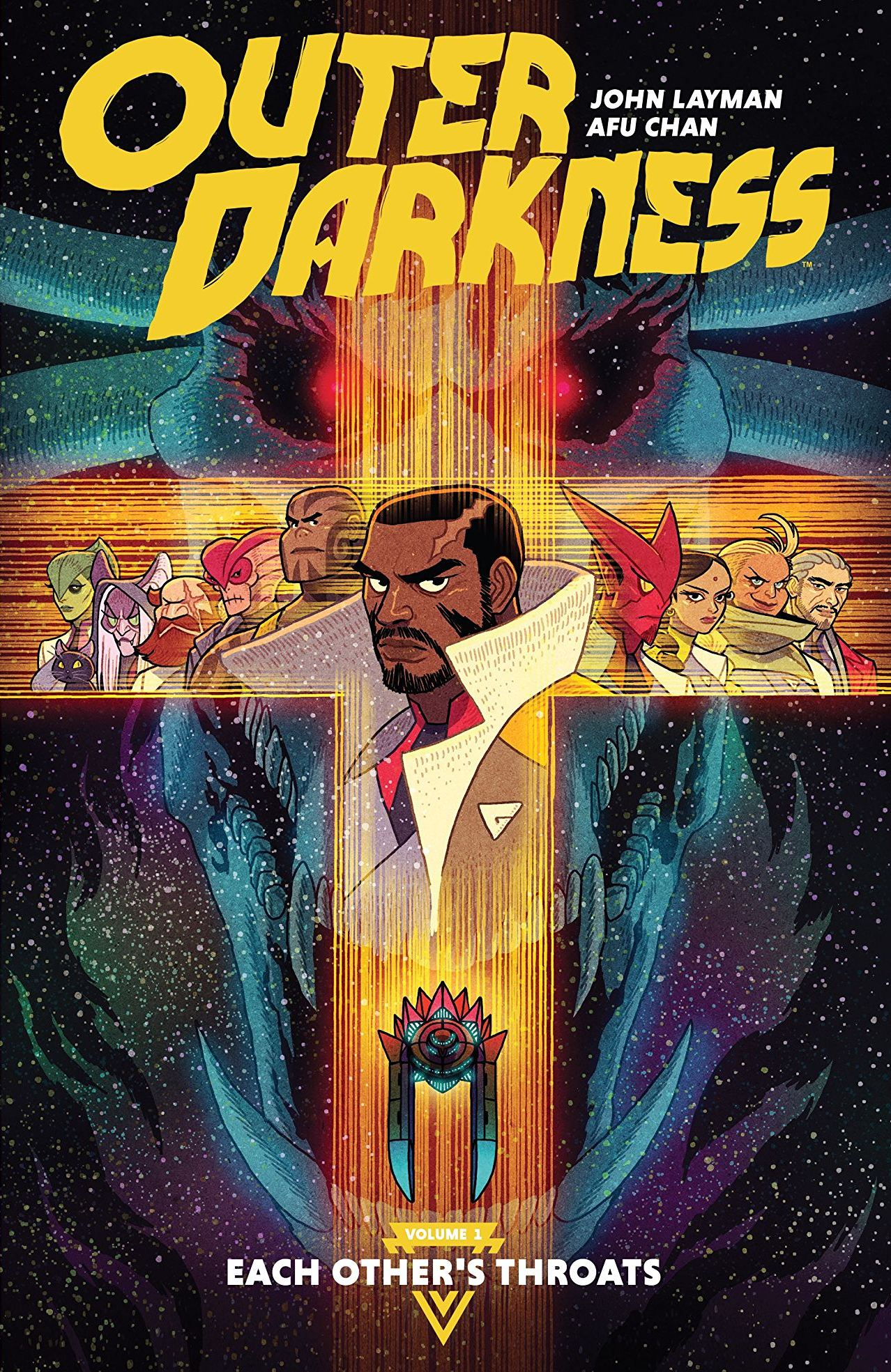 Outer Darkness Vol. 1: Each Other's Throats review: a twisted voyage