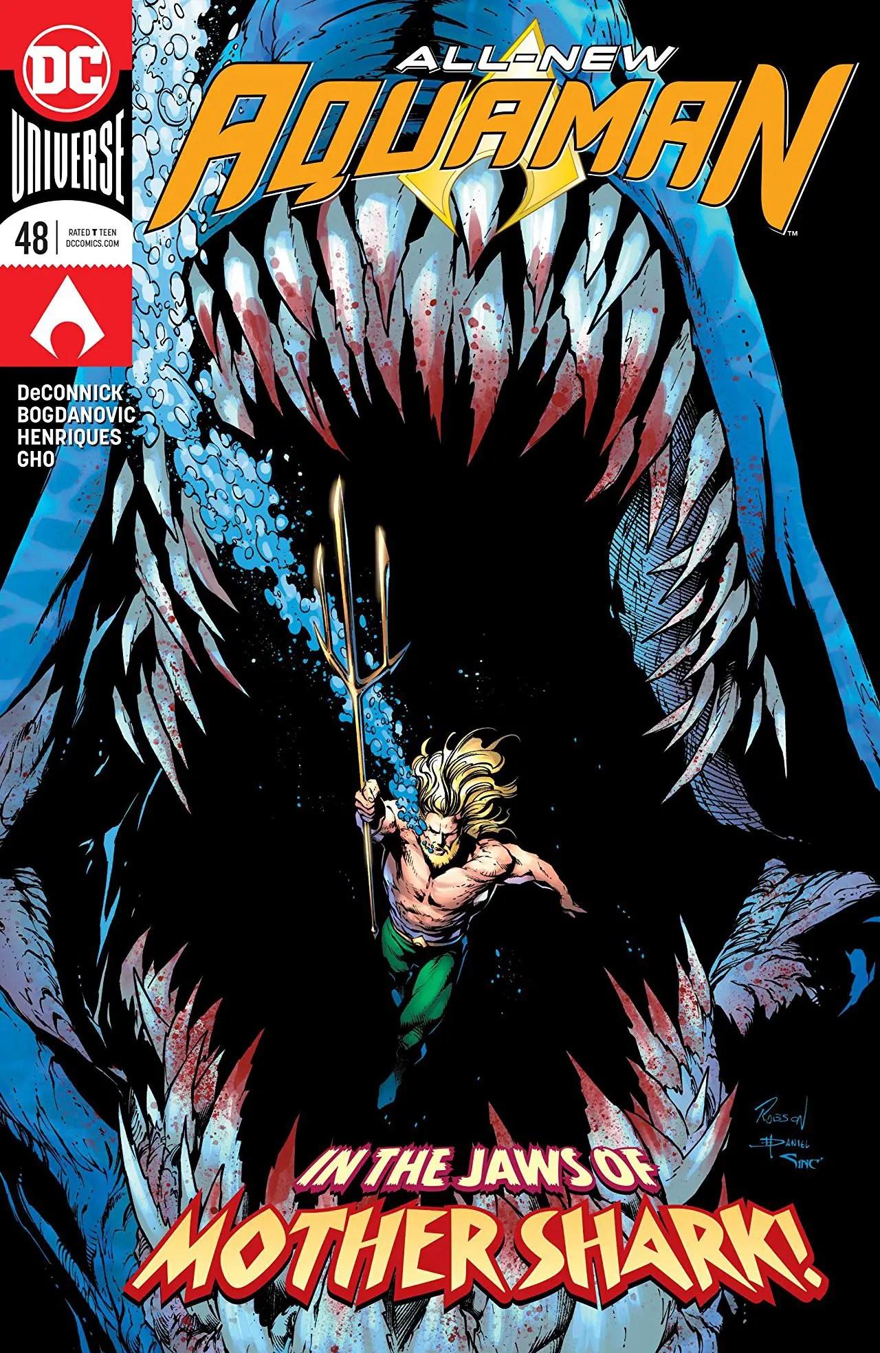 Aquaman #48 review: Mother Shark!