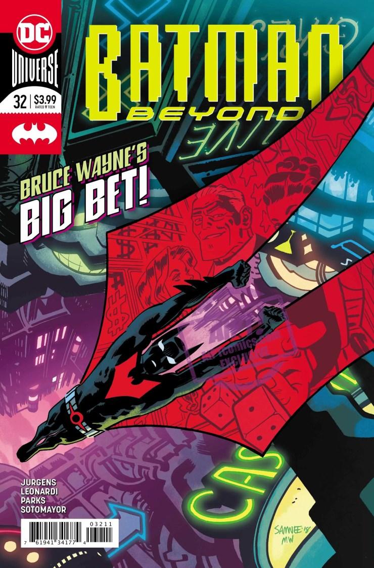 """Lost Daze"" continues as Batman's battle with the Splitt reaches a fever pitch."
