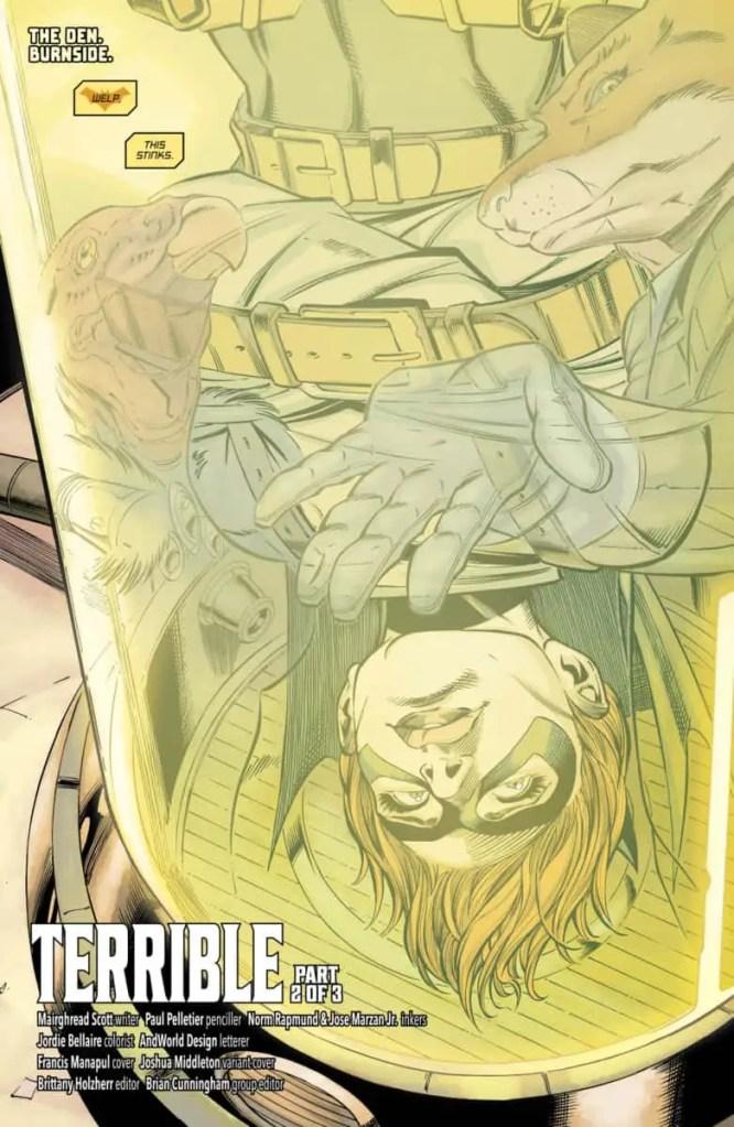 Batgirl #35 Review