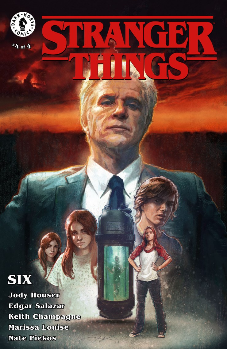FIRST LOOK: Stranger Things: Six #4 covers and solicitation