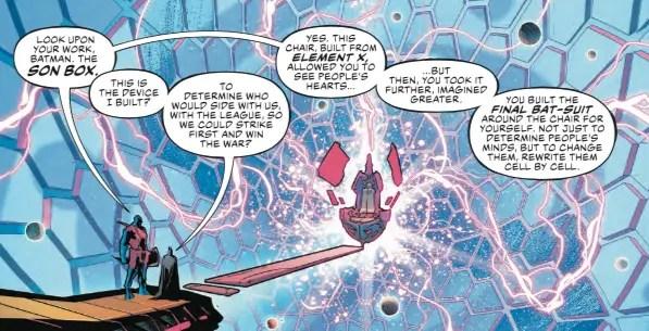 "Get a look at Batman's ""final bat-suit"" from Justice League #24"
