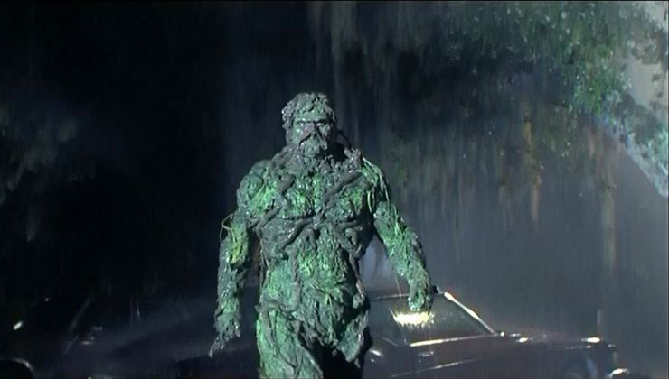 Remembering Swamp Thing's TV & film roots