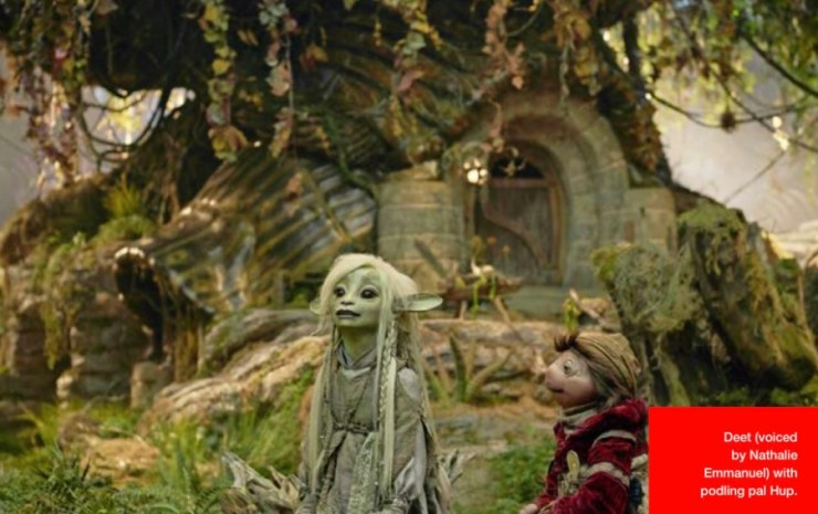 See puppets come to life in these new stills that reveal Skeksis and more.