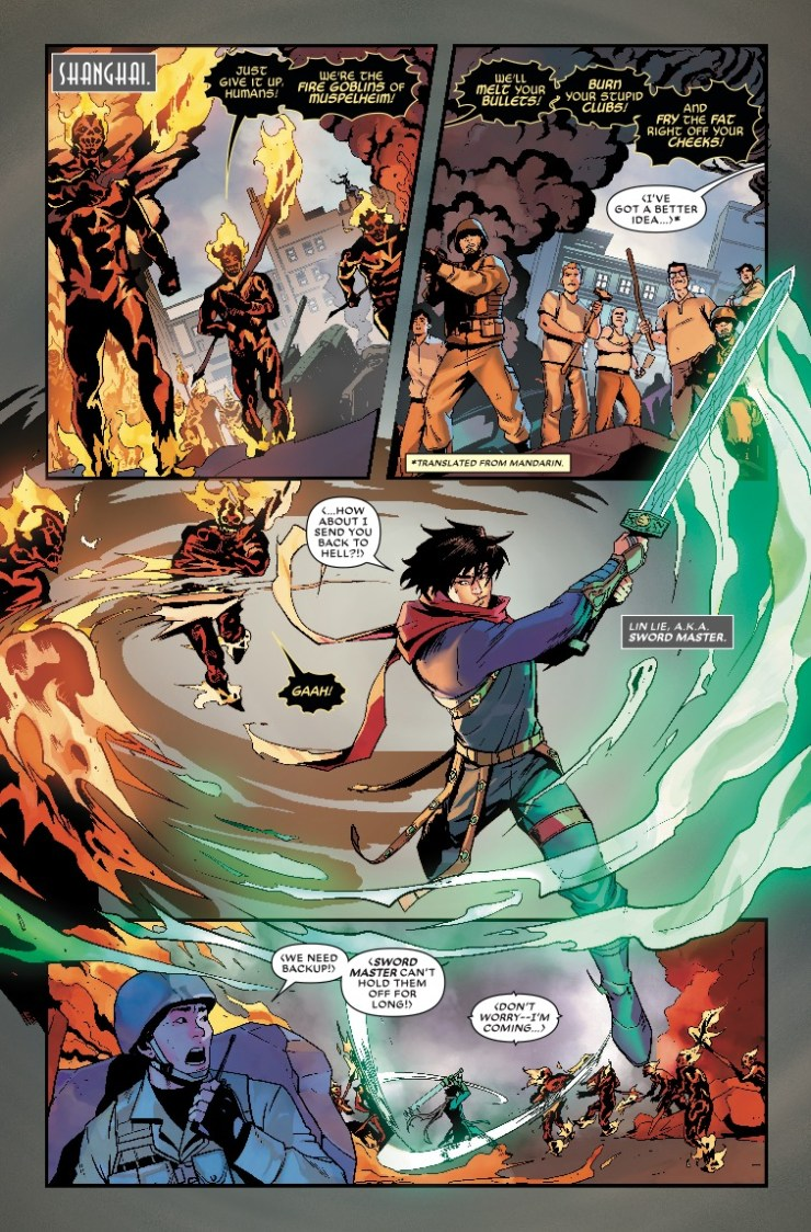 Marvel Preview: War Of The Realms: New Agents Of Atlas (2019) #2