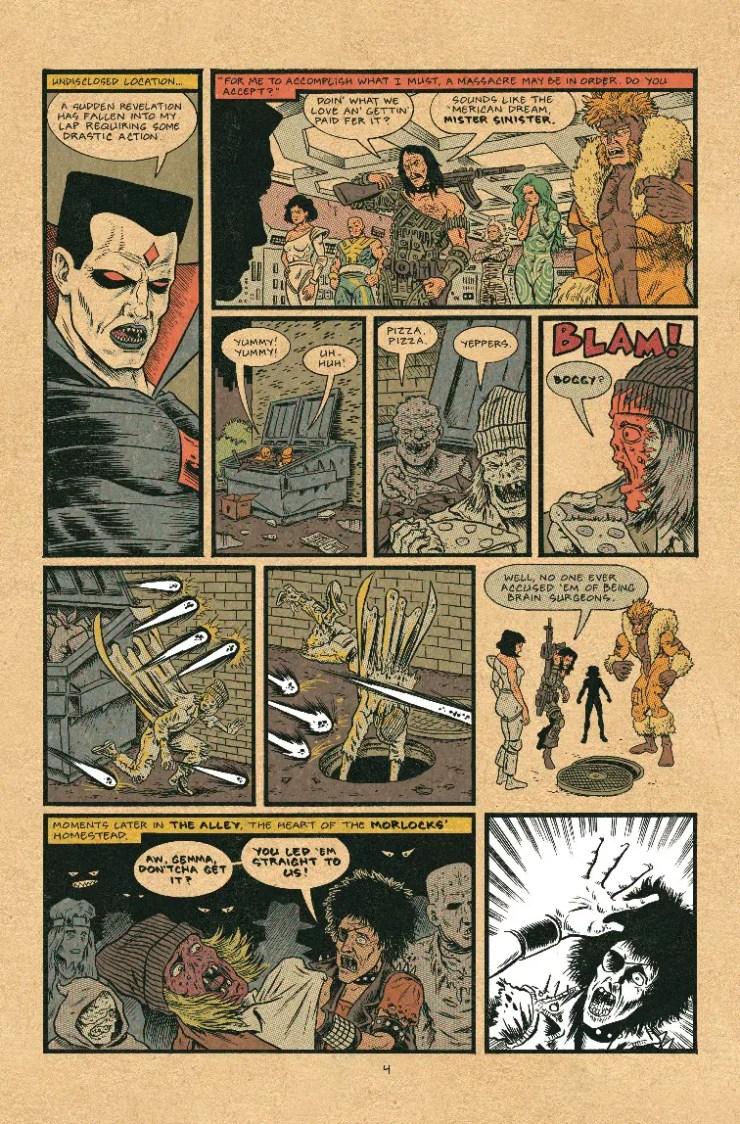 Marvel Preview: X-Men: Grand Design - X-Tinction #1