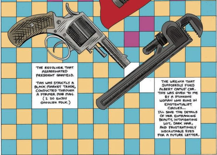 The weapons are your ordinary pawns anymore. IDW Publishing