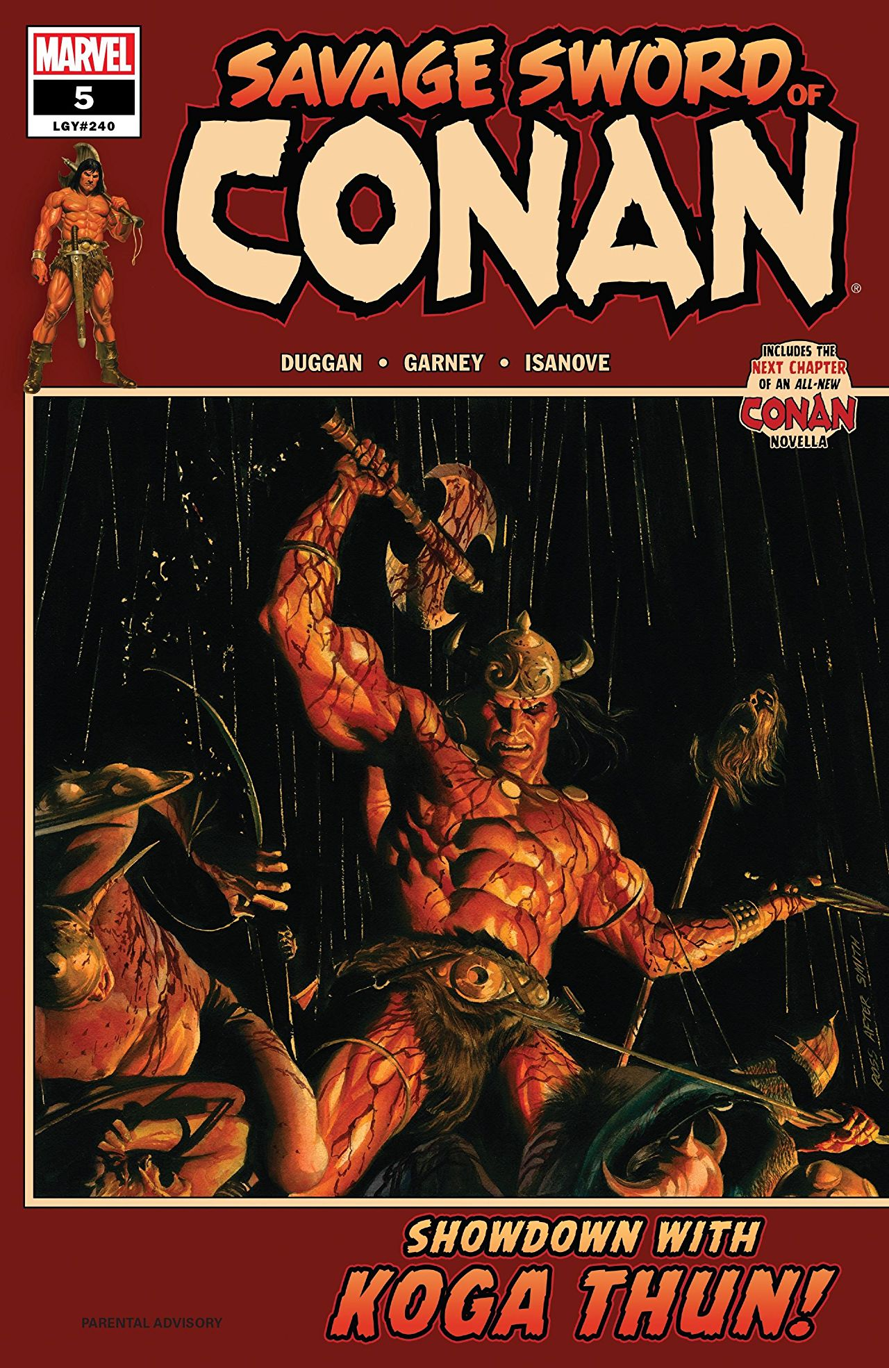 Savage Sword of Conan Vol. 1: The Cult of Koga Thun Review