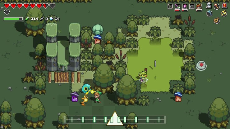 Cadence of Hyrule, the Zelda rhythm game, is out this week