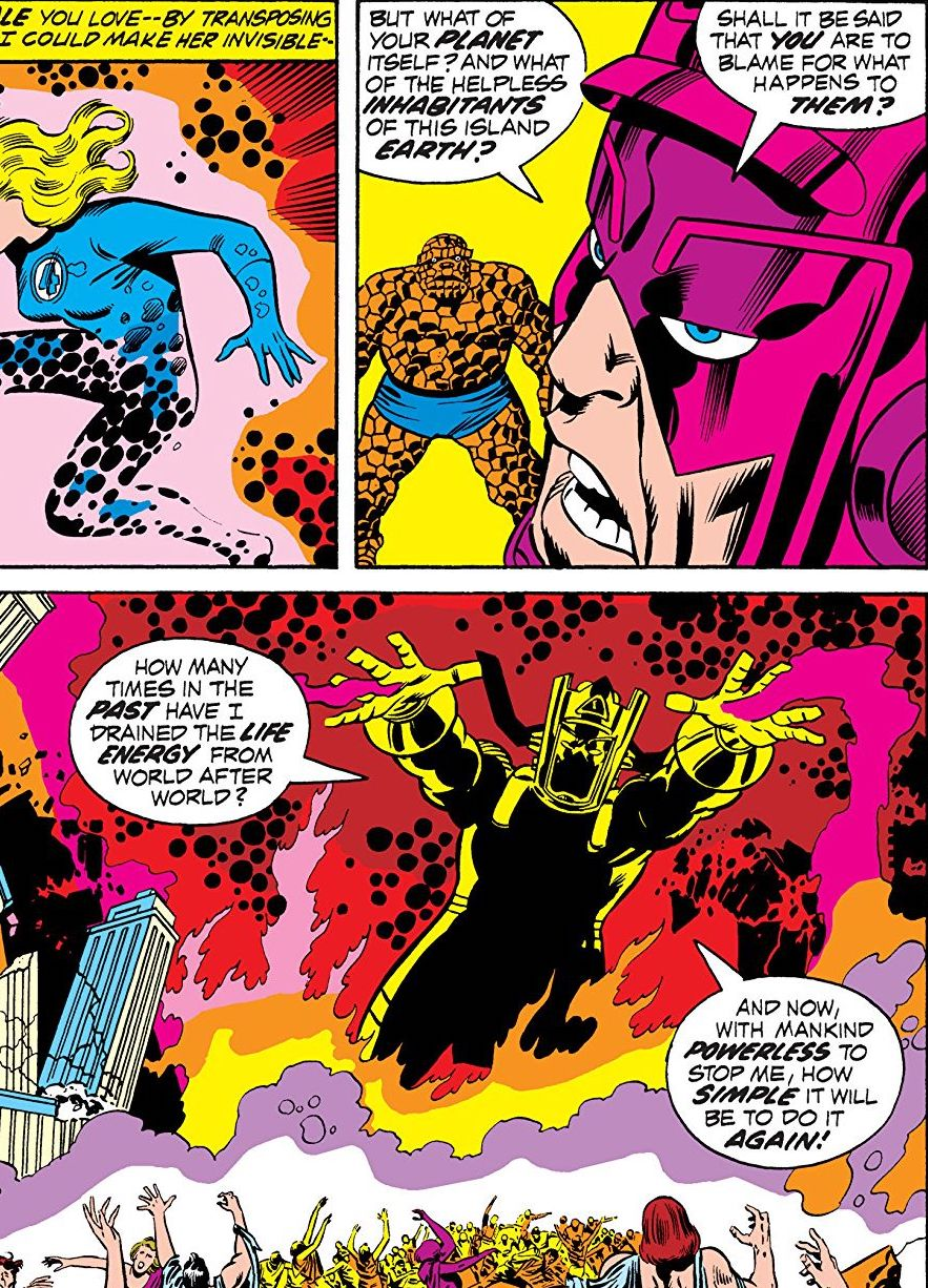 Fantastic Four: Behold... Galactus! Review
