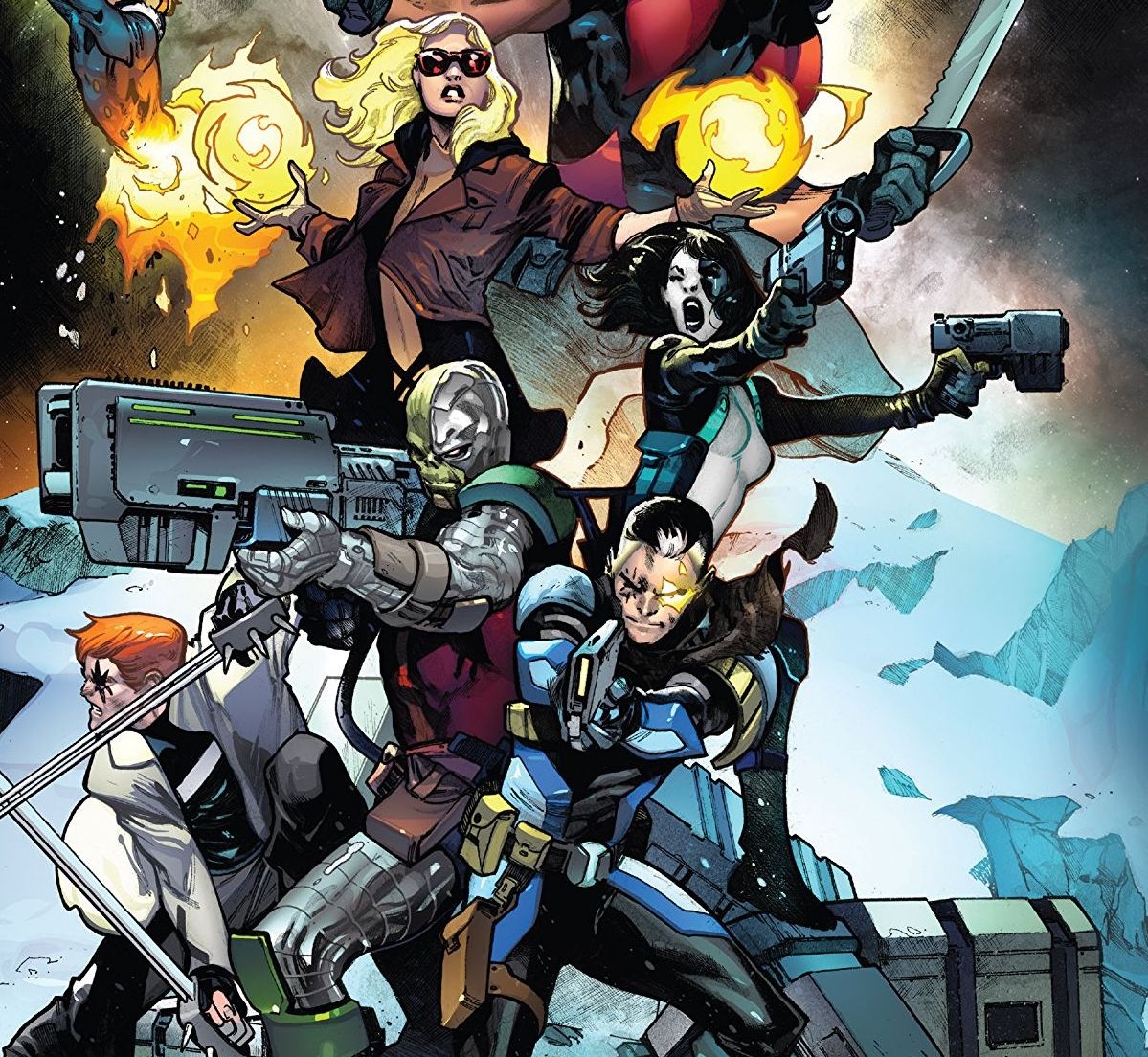 X-Force Vol. 1: Sins of the Past Review