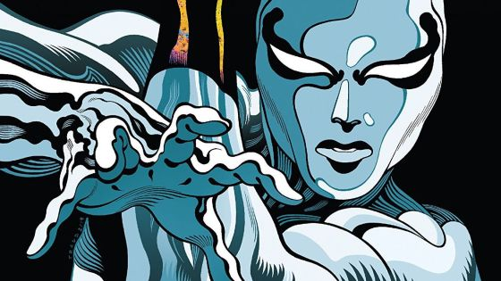 The Silver Surfer is lost through a wormhole after the events of Guardians of the Galaxy #1.