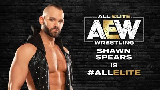 Shawn Spears aka Tye Dillinger joins All Elite Wrestling