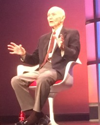 [WSF19] Apollo 11 astronaut Michael Collins charts our next course: to the Moon or Mars?